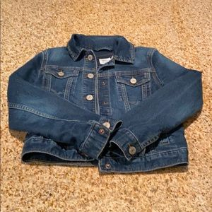 Girls GAP Jean Jacket, Medium.
